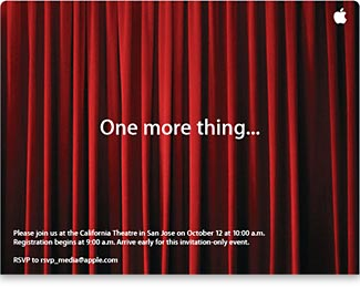 Do The Red Curtains In Apple S Special Event Invitation Carry Hidden Meaning Macdailynews