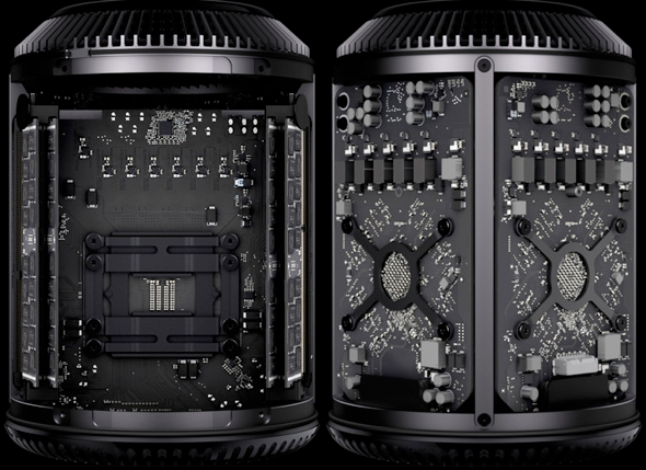 Apple's Mac Pro (aka The Misplaced Priorities Trophy) was released on December 19, 2013
