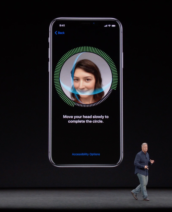 Apple granted U.S. patent for in-display Face ID and Touch ID