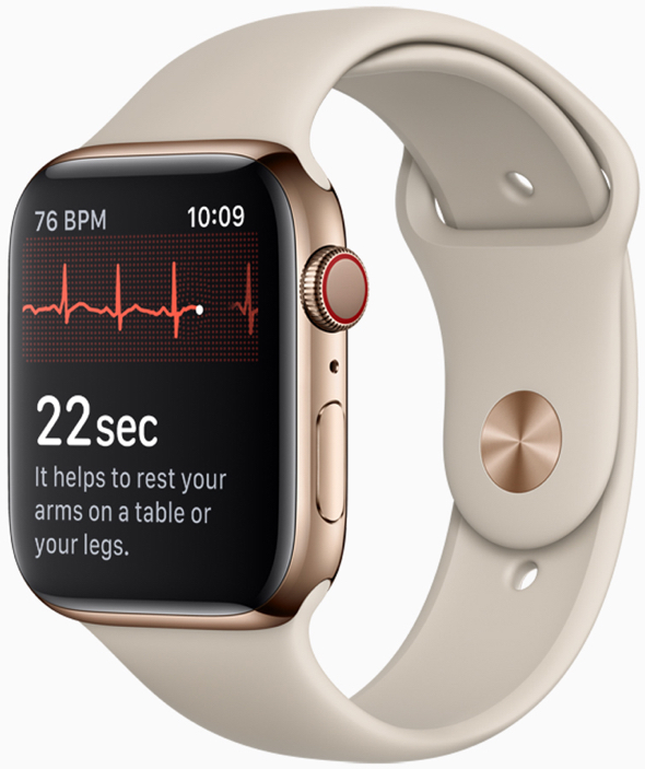 photo of Apple working on using Apple Watch to continually measure blood pressure image