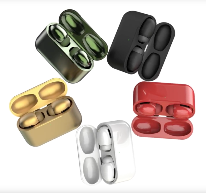 Apple S Forthcoming Airpods Pro To Come In Colors Including