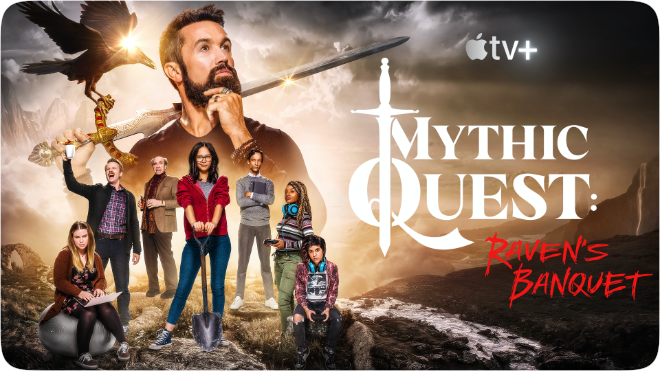 photo of Rob McElhenney on the 'ethical and social responsibility' of 'Mythic Quest' virtual episode on Apple TV+ image