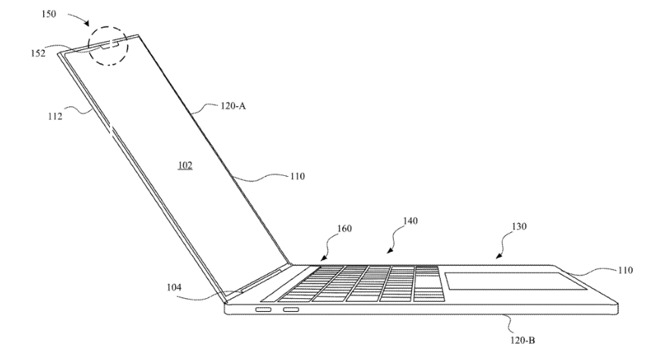 photo of Apple patent application reveals Macs with Face ID image