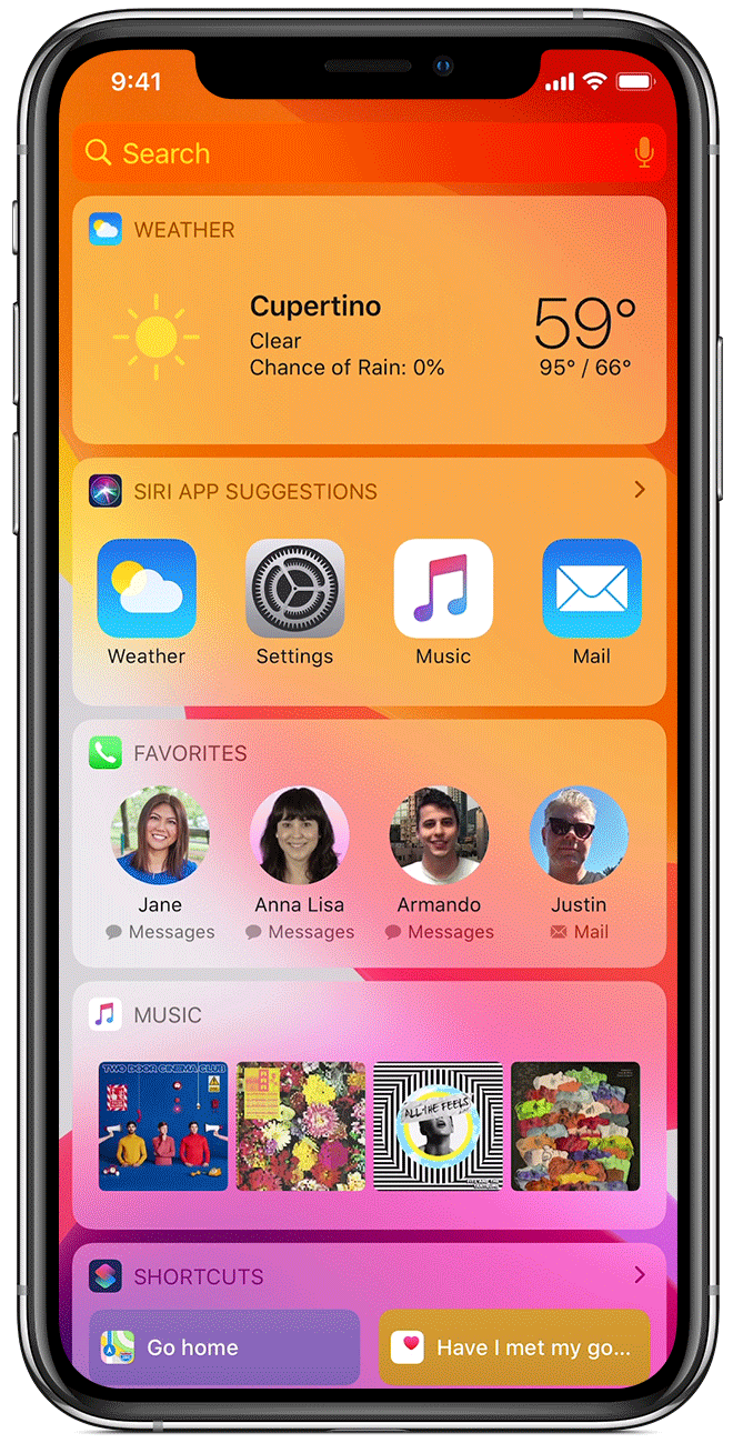 Apple's iOS 14 beta code reveals Home screen widgets for iPhone and iPad