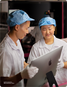 photo of Apple lobbying against U.S. bill aimed at stopping Uighur forced labor in China image