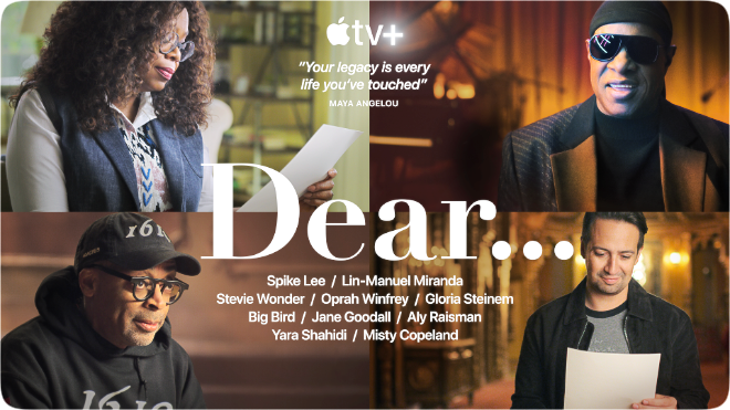 photo of Apple TV+ releases official trailer for 'Dear…' biography series image