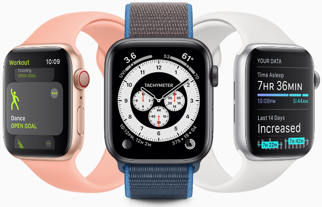 photo of Apple releases first public beta of watchOS 7 to Apple Watch testers image