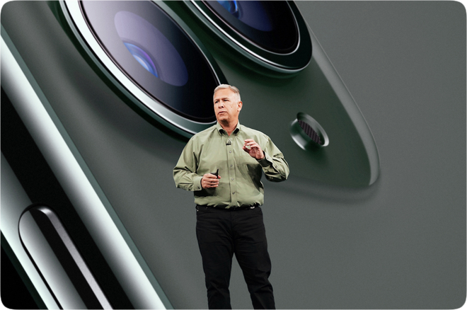 photo of Phil Schiller advances to Apple Fellow; Greg Joswiak promoted to Sr. VP of Worldwide Marketing image