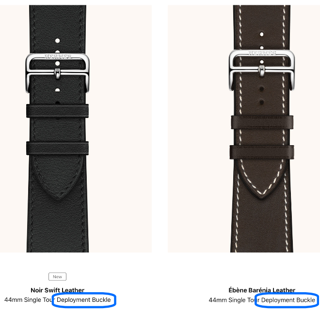 photo of Apple ridiculed for Apple Watch Hermès 'Deployment Buckle' gaffe image