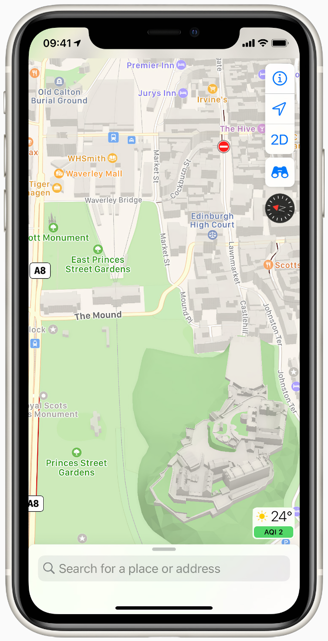 photo of Apple rolls out all-new Maps across the UK and Ireland image