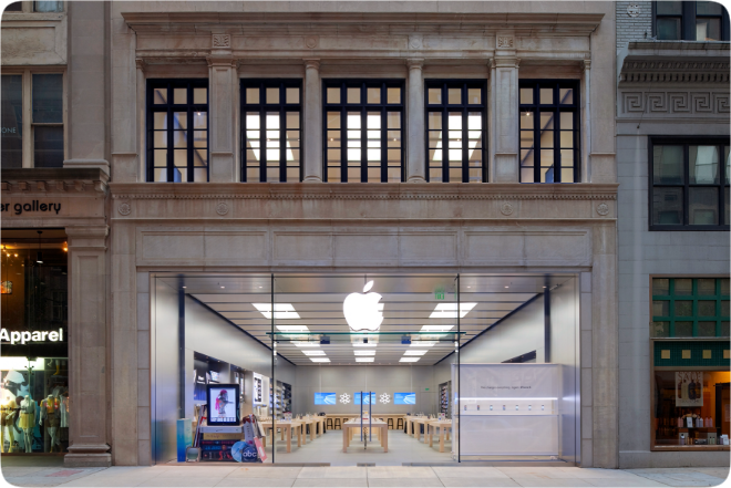 photo of Apple closes Philadelphia store amid widespread riots and looting image