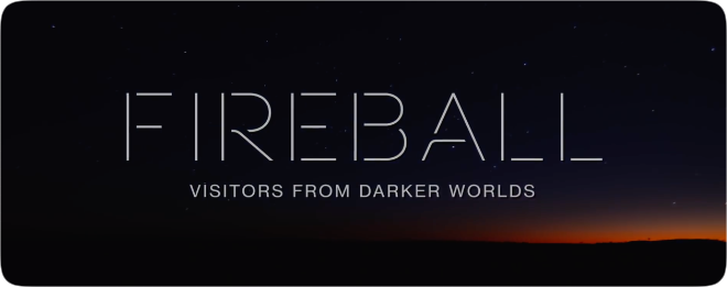 photo of Apple TV+ releases official trailer for 'Fireball: Visitors From Darker Worlds' image