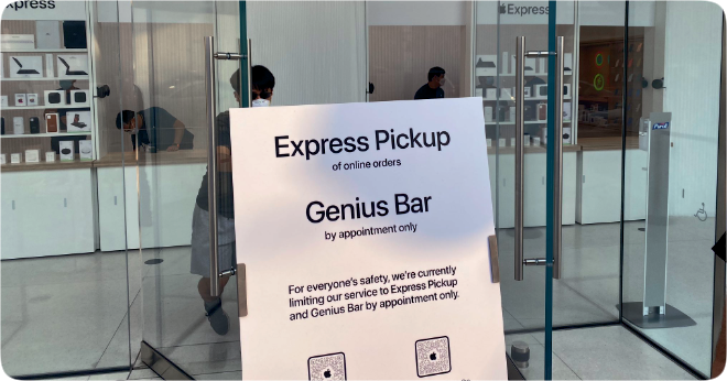 photo of Nearly half of U.S. Apple Retail Stores have switched to Express storefronts image