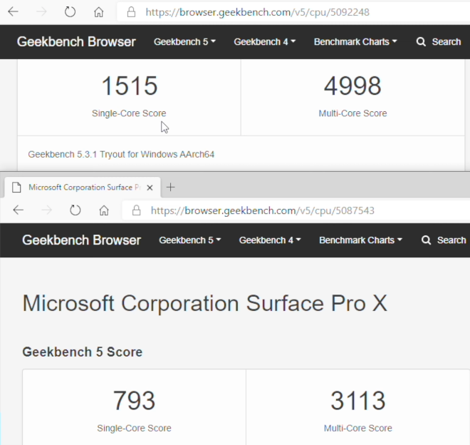 photo of M1 Mac virtualizes ARM Windows 10 nearly 2x faster than Surface Pro X can run it natively image