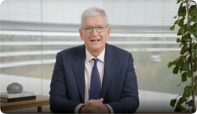 Apple CEO Tim Cook fears people not being able to 'express themselves fully'