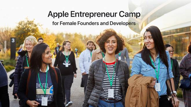 photo of Apple Entrepreneur Camp applications now open for female founders and developers image