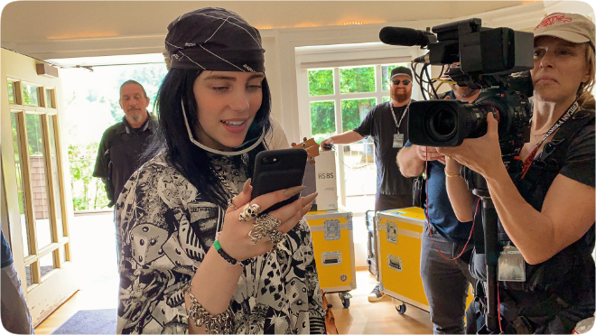 photo of Apple TV+ announces 'Billie Eilish: The World's A Little Blurry' live premiere event on February 25th image