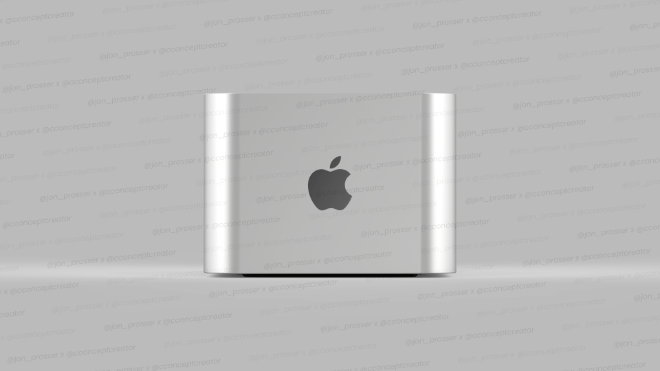 photo of Leaker shows off new Apple Silicon-powered iMac and 'Mac Pro mini' image