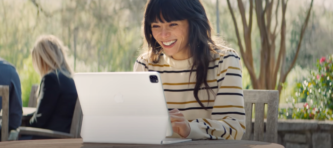 photo of Apple iPad ad: 'Your next computer is not a computer' image
