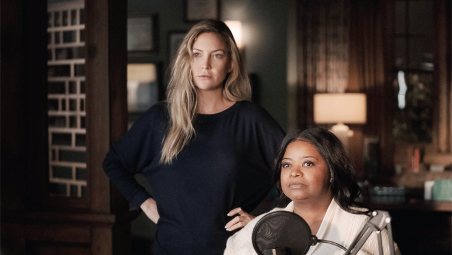 """photo of Apple TV+ debuts first look at season two 'Truth Be Told,"""" starring Octavia Spencer and Kate Hudson image"""