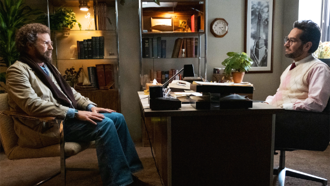 photo of Will Ferrell and Paul Rudd star in 'The Shrink Next Door,' premiering Nov. 12th exclusively on Apple TV+ image