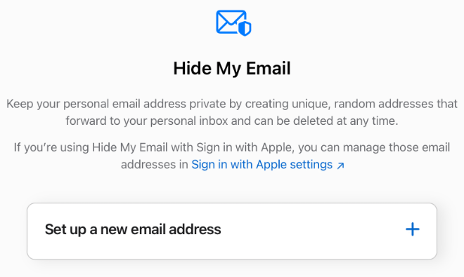 photo of With 'Hide My Email,' Apple iCloud+ users can now create burner email addresses image